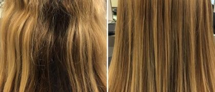 HAIR EXTENSIONS MAKEOVER! Transforming a client with lacking density with SHE Hair Extensions? No…
