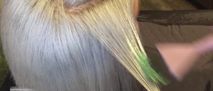 """WELL IT HAPPENED…MEET """"GLITTERAGE"""" …the combination of balayage and biodegradable glitter! The oddest trend…"""