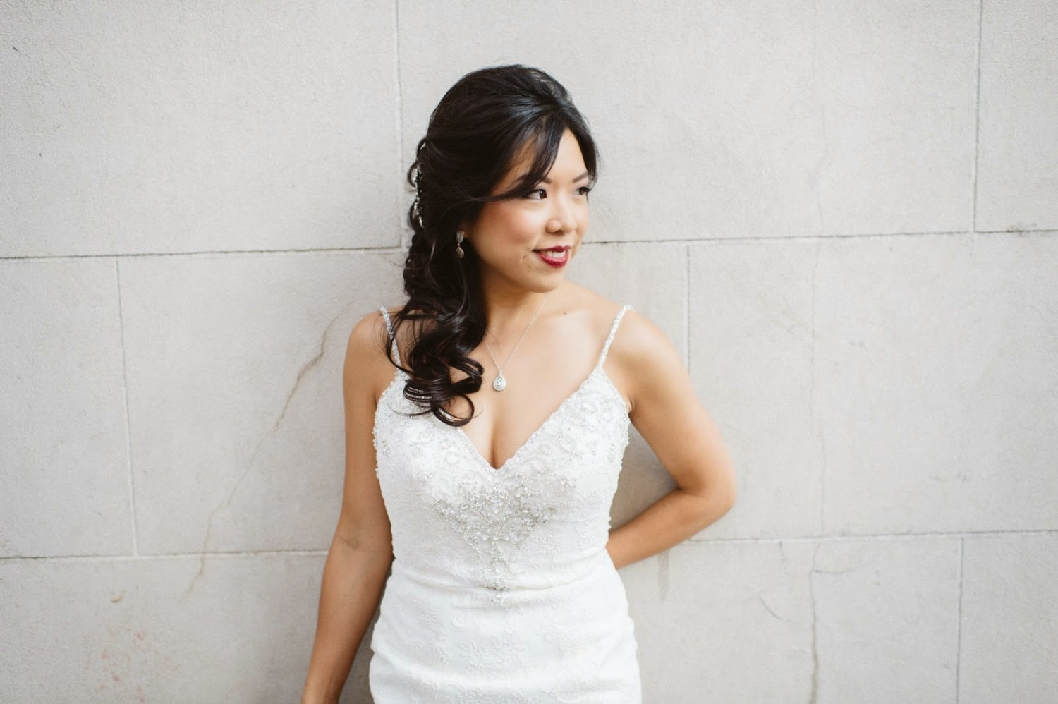 Bride Beautiful With Hair Extensions Profitablestylist