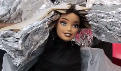 THE HAIRDRESSER…WHO DOES BARBIE? If you think turning out on point every day is…