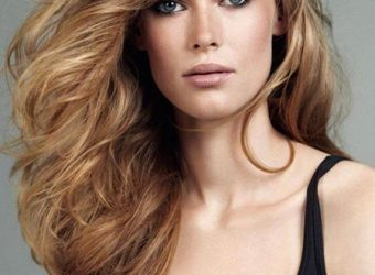 "OCCASION HAIRSTYLE: ""GENTLY TOUSLED"" Paired with an elegant evening dress, these is perfect no…"
