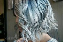 "NOT A FAN OF LAST YEAR'S GREY HAIR TREND? You may find the ""denim""…"